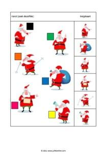 Kerst zoek dezelfde kerstman JPG