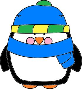 Pinguin op nummer in kleur