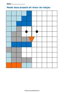 Maak deze pinguïn af