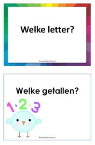 PowerPoint rekenen en letters