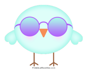 Bird glow colour sunglasses