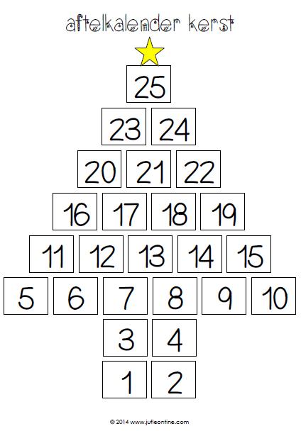 Extreem aftelkalender » Juf Leontine DI38