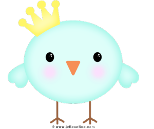 Bird glow colour crown