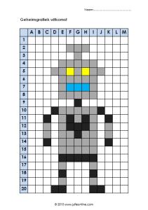 Geheimgrafiek Nummer 14 Robot